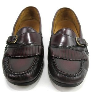 Cole Haan - Pinch Buckle Kiltie Loafers Sz 8D